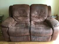 HARVEYS 2 SEATER RECLINER SOFA, FREE TO COLLECT UNTIL 18SEP2020
