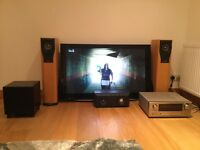 "Home cinema system with 46"" Plasma TV"