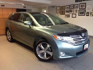 2010 Toyota Venza LEATHER/AWD/V6/1 OWNER LOCAL TRADE!!
