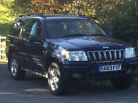 Grand Cherokee Overland, 2.7 CRD 113k, FSH, Leather Alcantra, Electric Everything,