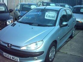 colchester pug 206 2.0 diesel 5 door , 03 , very clean ,01206 397 415