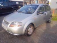 2004 Chevrolet kalos 1.4..12 months mot..5 door