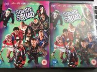 Suicide Squad DVD + ultraviolet Digital Download Brand New Sealed