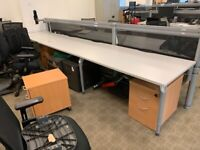 Office Clearance! Desks, Chairs, Conference Tables and Storage Pedestals