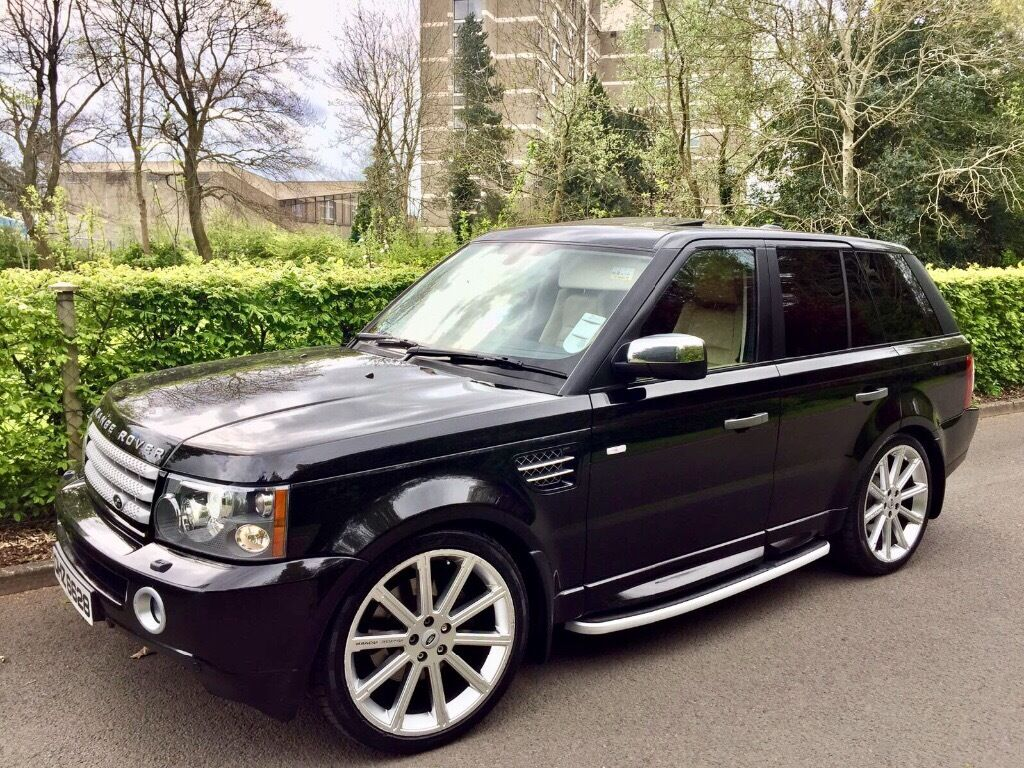 2007 range rover hse sport great extras sunroof in. Black Bedroom Furniture Sets. Home Design Ideas