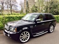 2007 Range Rover HSE Sport great extras Sunroof!