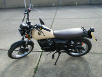 SINNIS TRACKSTAR 125 2012 LOW MILEAGE VERY GOOD CONDITION