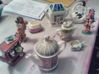 collection of china/porcelain items