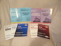 Brand new AQA revision books and workbooks.
