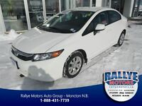 2012 Honda Civic LX, Fully Equipped, Warranty