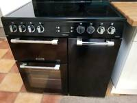 As new beautiful electric range cooker.