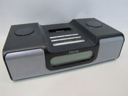iHome iH2 Alarm Clock AM/FM/Radio tuner iPod Speaker Dock/Charger/Aux