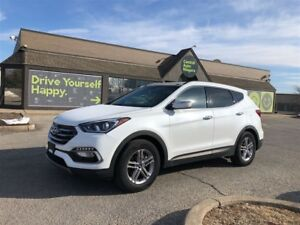 2018 Hyundai Santa Fe Sport SE / AWD / LEATHER / SUNROOF