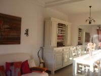 House for rent fully furnished 8mn on foot from the beach ,private car park,on the french riviera
