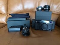 Fuji X-pro1 Camera with 27mm 2.8 and 18mm 2 lens