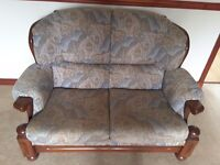 Two sofas and two armchairs for sale.