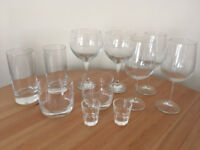 Fell Set of Cocktail Glassware