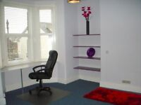 Double Room ....Actually TRIPLE room size, in fantastic all-professional female house Central Exeter
