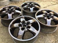 "18"" genuine Bbs Porsche alloy wheels dipped"