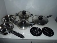 Swiss Line Pan Set