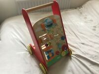 Wooden Activity Baby Walker