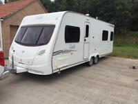 TWIN AXLE 2008 LUNAR DELTA TWO SINGLE FIX BED BLACK OUT WINDOWS WE CAN DELIVER PX WELCOME