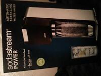 sodastream automatic sparking water