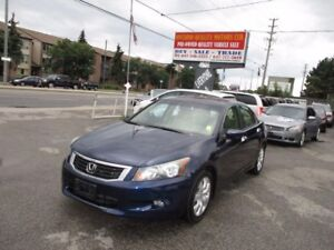 2008 Honda Accord EX-L,LEATHER,SUNROOF ,HEATED SEATS  DRIVER AND
