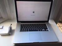 "Apple MacBook Pro 15"" 2.66ghz i7 quad core CPU, 8gb ram, 500gb hard drive, GeForce 330m"