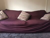 Free large 4 seater sofa and chair