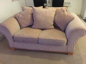 2 seater, excellent condition beige sofa