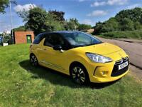 CITROEN DS3 1.6 DSTYLE, Excellent Low Mileage Example (yellow) 2010