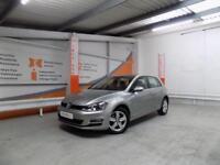Volkswagen Golf MATCH TDI BLUEMOTION TECHNOLOGY DSG (silver) 2014-09-30