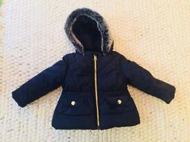 John Lewis - Baby Winter Coat 6-9mths