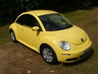 Volkswagen Beetle Luna * Sunflower Yellow * megane mini ibiza golf focus astra cc polo