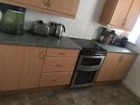 Kitchen units and work tops SOLD