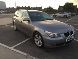 BMW E60 2.0 D estate . New MOT.very good car still , smooth runner