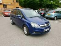 ###Cheap car Vauxhall zafira 2007 1.8 petrol manual perfect drive###