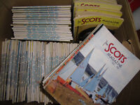 130 ISSUES OF SCOTS MAGAZINE 1960-70