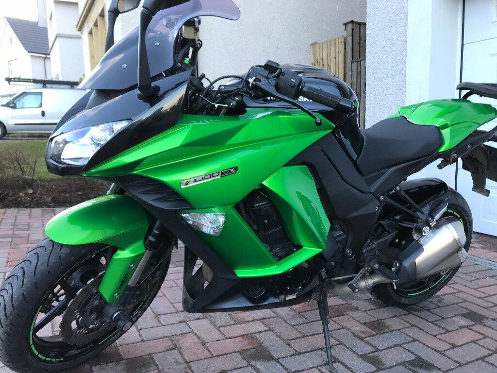 Kawasaki Z1000sx 2014 ABS 64 Reg Green