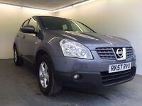 2007 | Nissan Qashqai Acenta 1.6 | 3 MNTHS WARRANTY | PANO ROOF | SAT NAV | REV CAM |1 FORMER KEEPER
