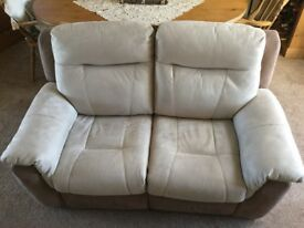 Two Seater Twin Electric Recliner