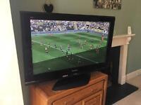 "Panasonic 42"" plasma TV, 1080p full HD, DVB, great condition"