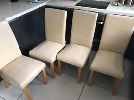 6 used dinning chairs