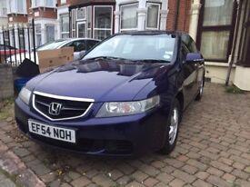 2004 Honda Accord SE Vtec Auto 2.0L, 2 Owners.