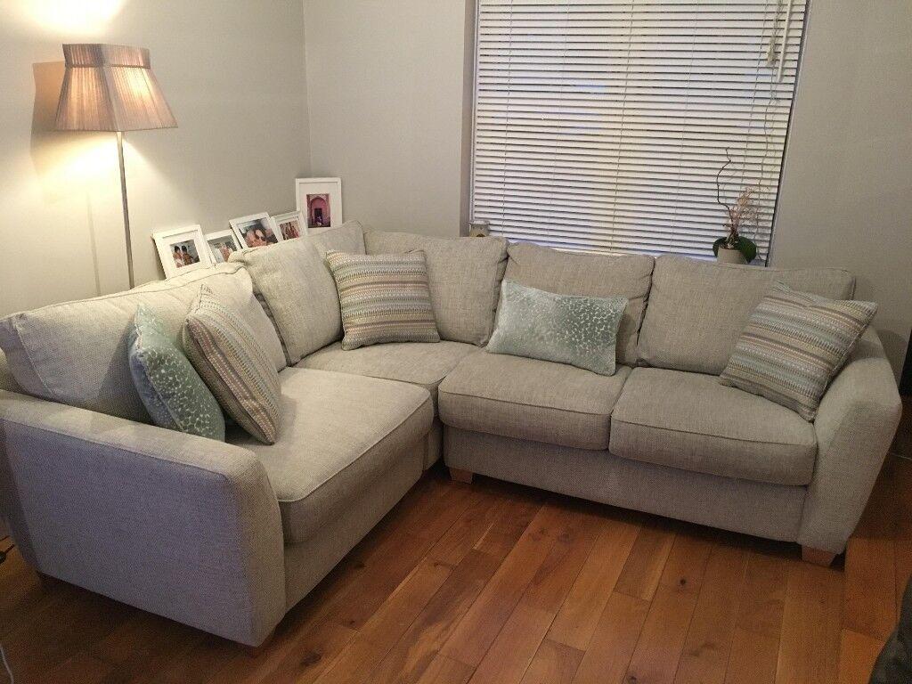 super popular 85a94 9a055 DFS Sophia Range Grey Corner Sofa - 4/5 Seater | in Hampton, London |  Gumtree