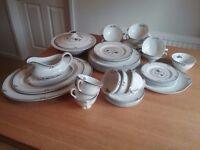 Royal Doulton 'Old Colony' fine bone china dinner service and tea set