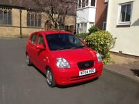 KIA PICANTO 1.1 LX 5 DOOR (NEW MOT) LOW MILES