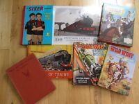 6 old childrens books.