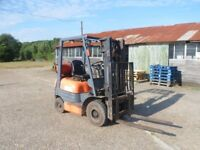 Toyota Forklift 1.5 tonne lift capacity